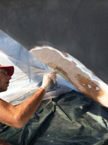 Bill fixing hole