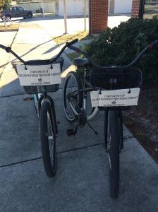 Free rental bikes in Oriental