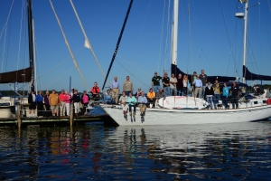 We invited a few Whitby Brewer Rendezvous members aboard!