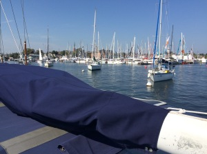 Crowded Boat Show