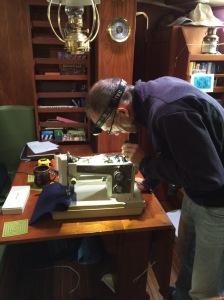 Bill is trying to upgrade my Kenmore to sew very heavy fabrics
