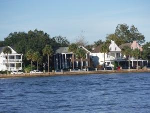Charleston Waterfront Mansions