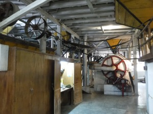 Coffee factory is usually run on hydropower