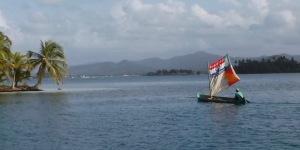 Sailing dugout