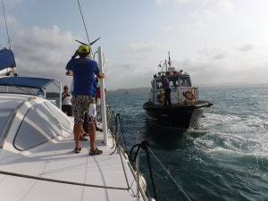 Freddie, our advisor, comes aboard