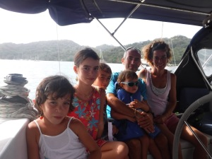 This has to be the friendliest family I've ever met.  Enjoy your world travels!