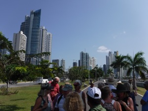 Rally members out of our element in the modern Panama City