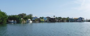 Ocean Front in Honduras isn't always the glamorous homes