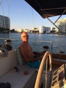 Bill got a fresh haircut in Miami