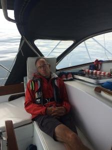 Sailing is hard work
