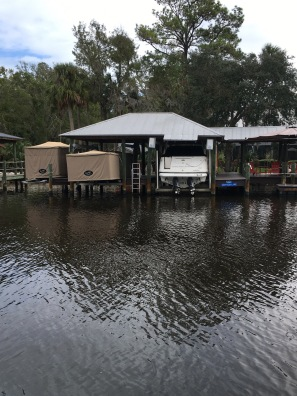 People cover their boats here in Florida
