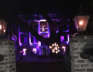 A very spooky haunted house in downtown Beaufort SC