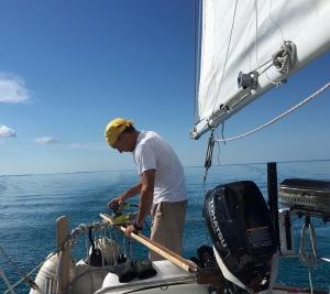 Sanding while sailing
