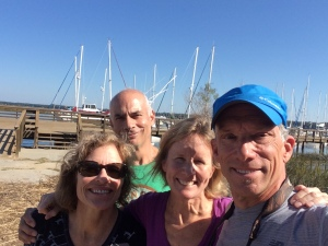 Tracy and Marty join us at the marina